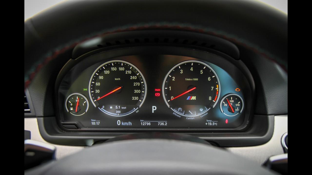 """Avaliação: BMW M5 empolga, mas não nega o lado """"tiozão"""""""