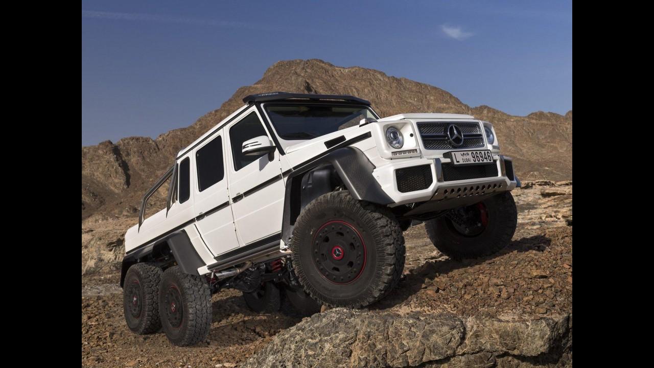 T-Rex dos carros, Mercedes G63 AMG 6X6 estará em Jurassic Park 4