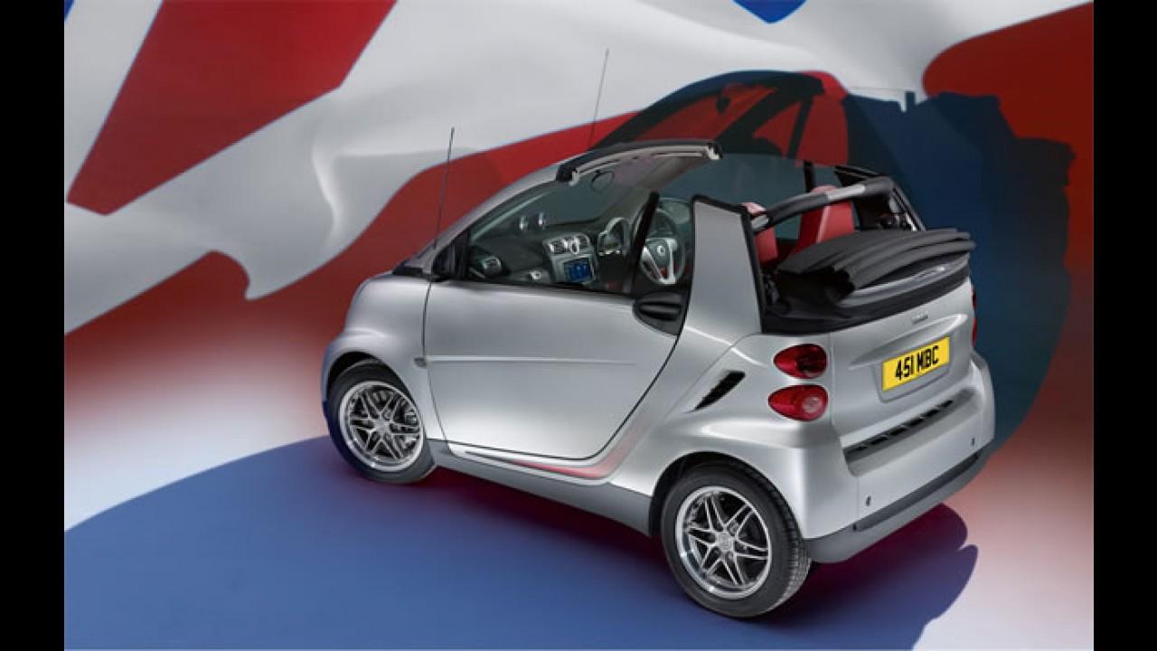 Smart comemora 10 anos no Reino Unido com edição especial do ForTwo