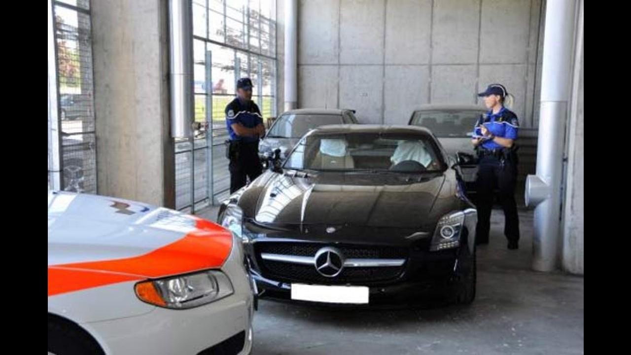 Motorista é preso na Suíça por dirigir a 290 km/h