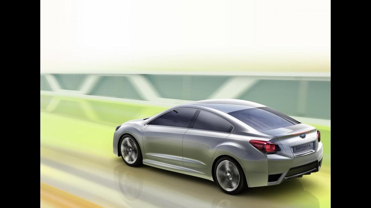 Galeria de Fotos: Subaru Impreza Concept por todos os ângulos