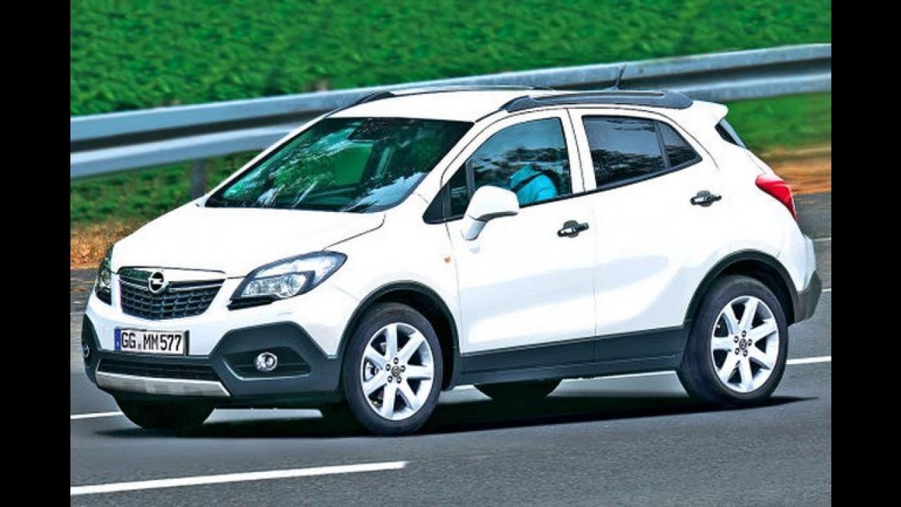 Opel Mokka: SUV baseado no Corsa poderá ser apresentado no Salão de Genebra