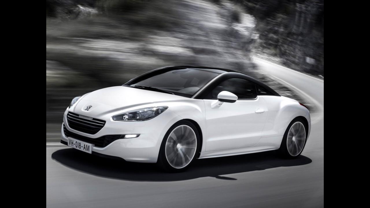 Peugeot RCZ reestilizado chega ao Brasil em abril