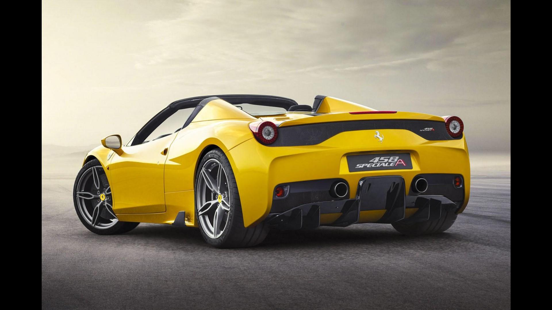 Ferrari revela 458 Speciale Aperta com produção limitada a ...