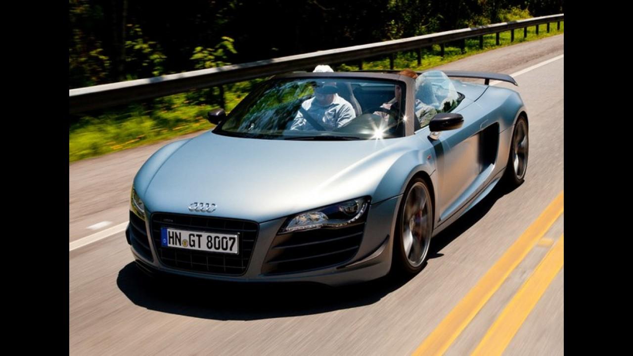 Aceleramos o Audi R8 GT Spyder – e você também vai poder dirigi-lo no Salão!