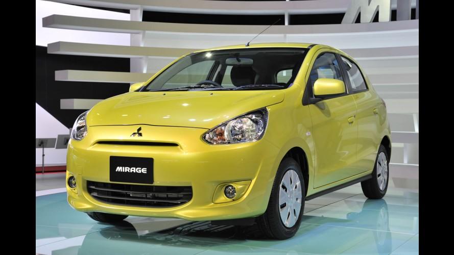 Mitsubishi Mirage começa a ser vendido no Japão e promete consumo de até 27,7 km/l