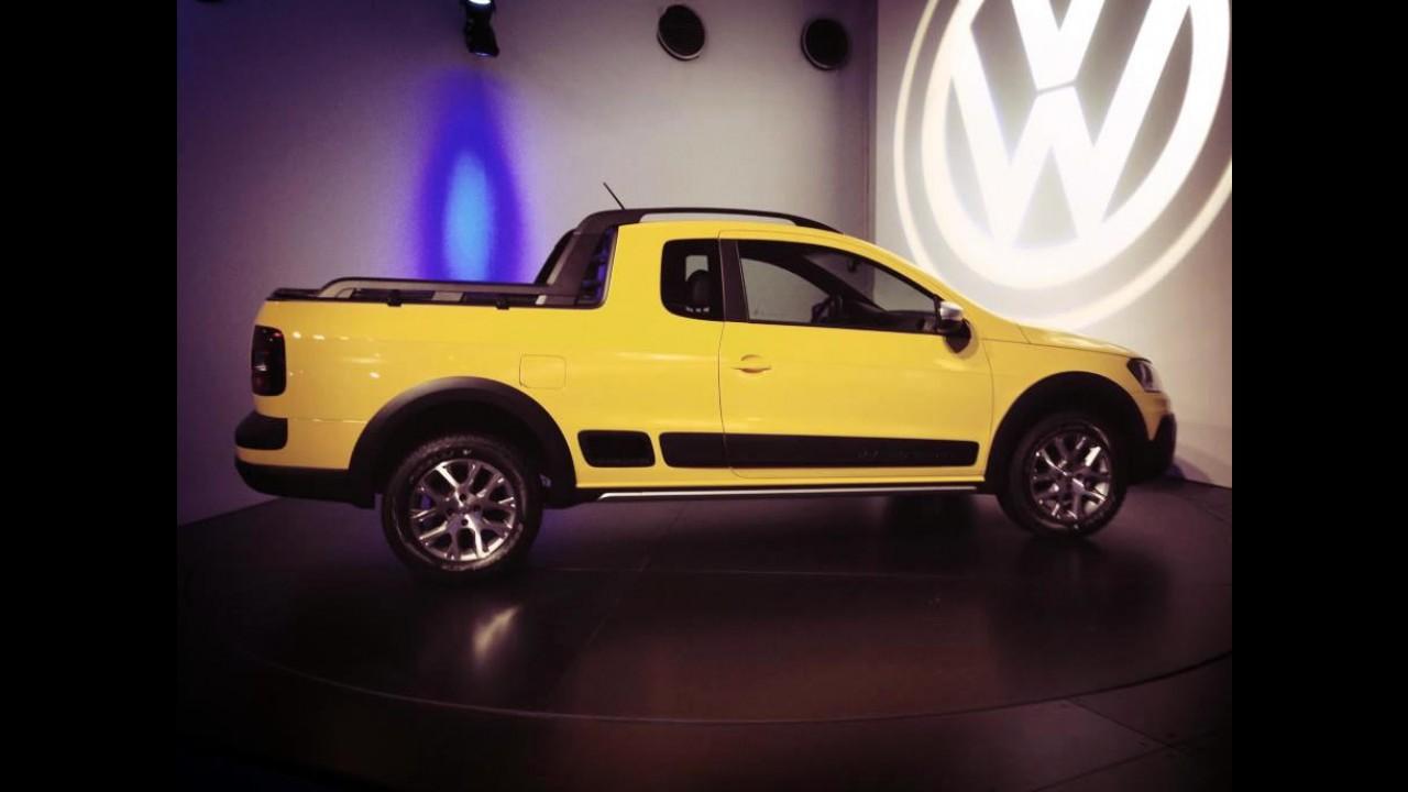 Nova VW Saveiro Cross 2014 vaza na internet