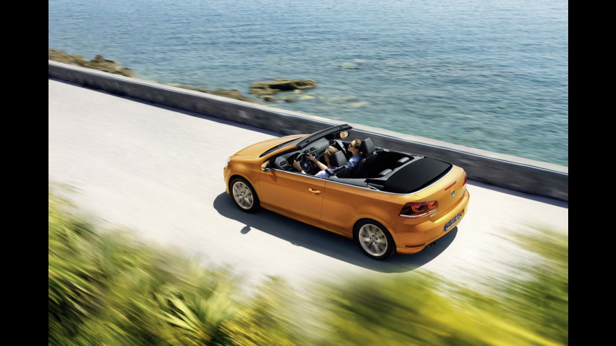 Volkswagen Golf Cabriolet restyling, piccoli ritocchi