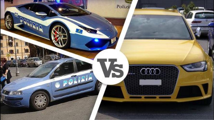 L'Audi gialla brucia, i problemi restano