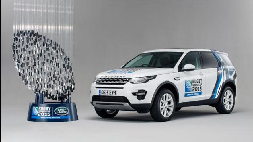 Land Rover è sponsor della palla ovale