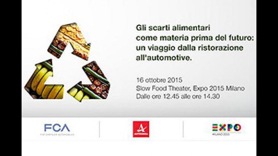 FCA, all'Expo il futuro passa anche dagli scarti alimentari
