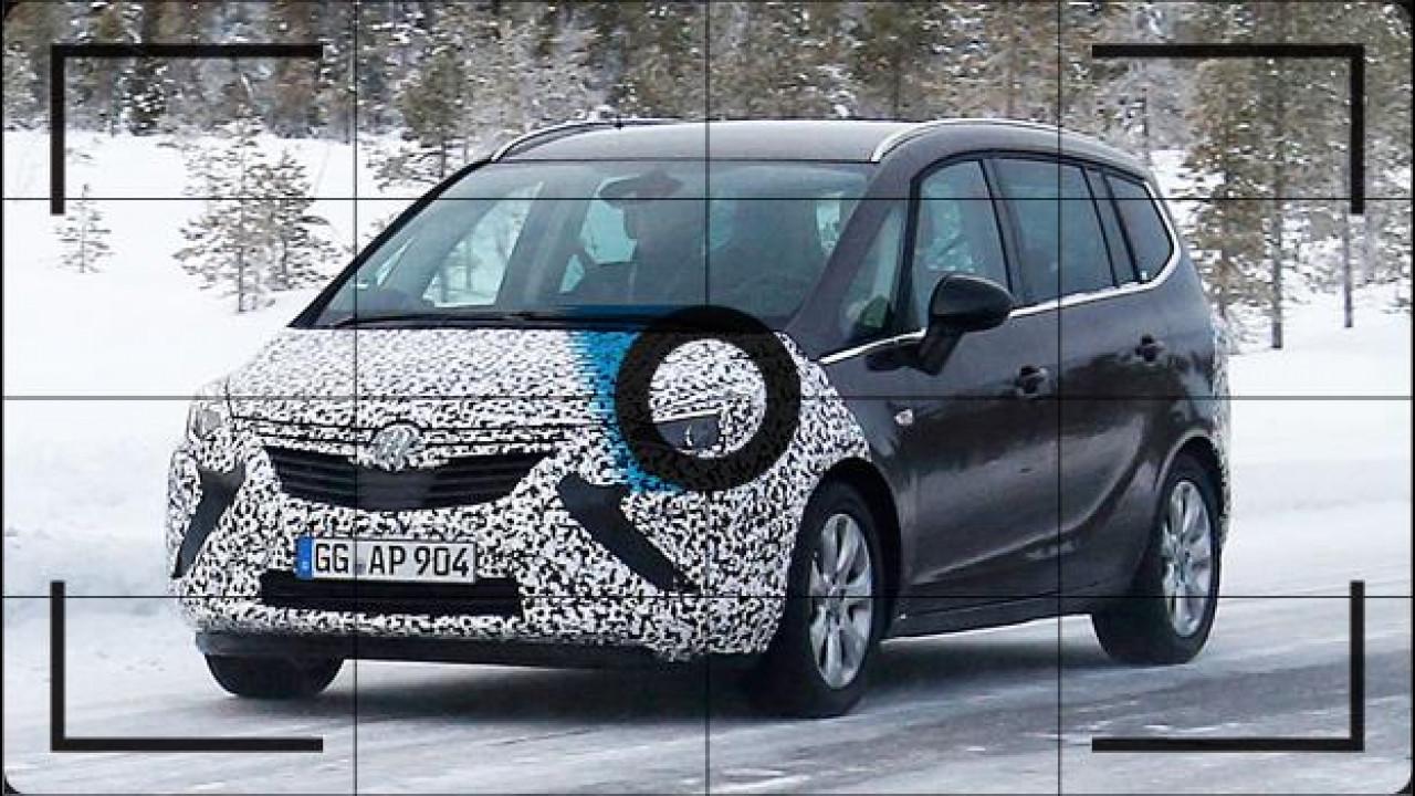 [Copertina] - Opel Zafira Tourer, il restyling è in preparazione