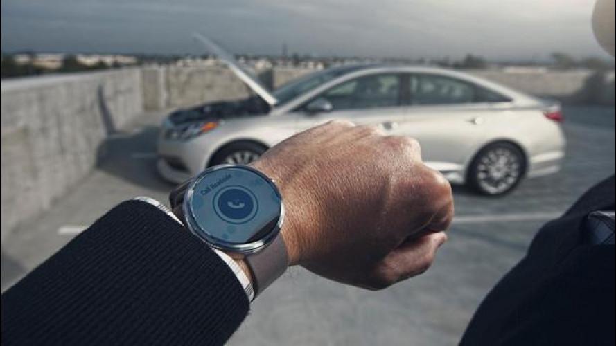 Hyundai Connectivity Cockpit Concept, l'abitacolo del futuro