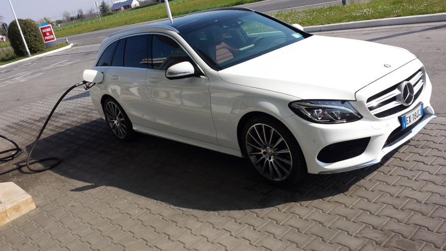 Mercedes C300 h Station Wagon, la prova dei consumi reali
