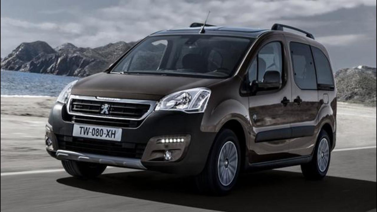 [Copertina] - Peugeot Partner Tepee, furgone a chi?