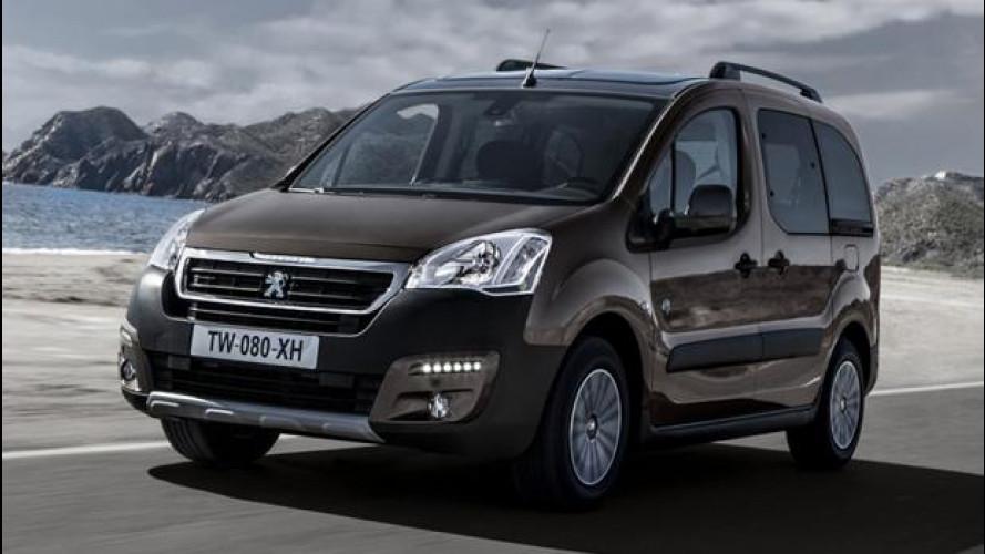 Peugeot Partner Tepee, furgone a chi?