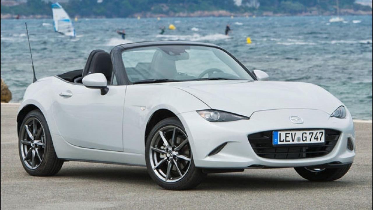 [Copertina] - Mazda MX-5, con Get&Drive a 13.156 euro