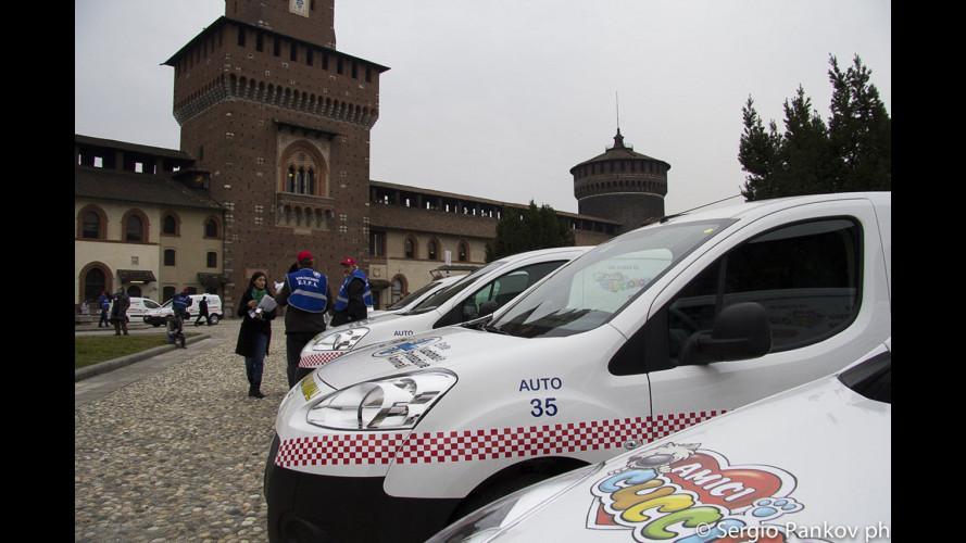 """Peugeot """"Salvanimali"""" con il Partner"""