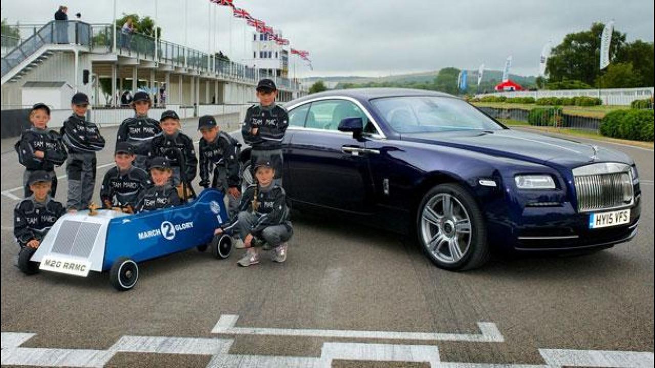 [Copertina] - Rolls-Royce March 2 Glory, l'elettrica fatta dai bambini