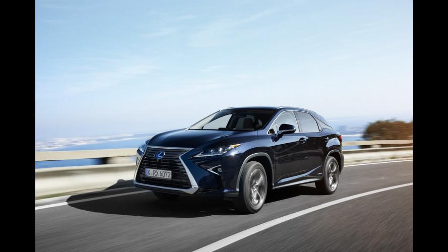Nuova Lexus RX, è cresciuta bene