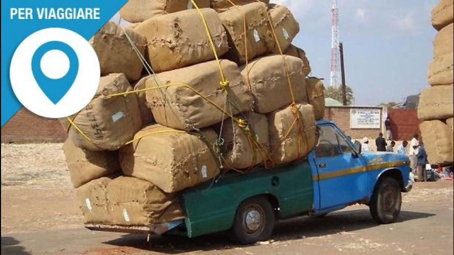 Viaggiare con l'auto a pieno carico? Cautela e sei consigli utili