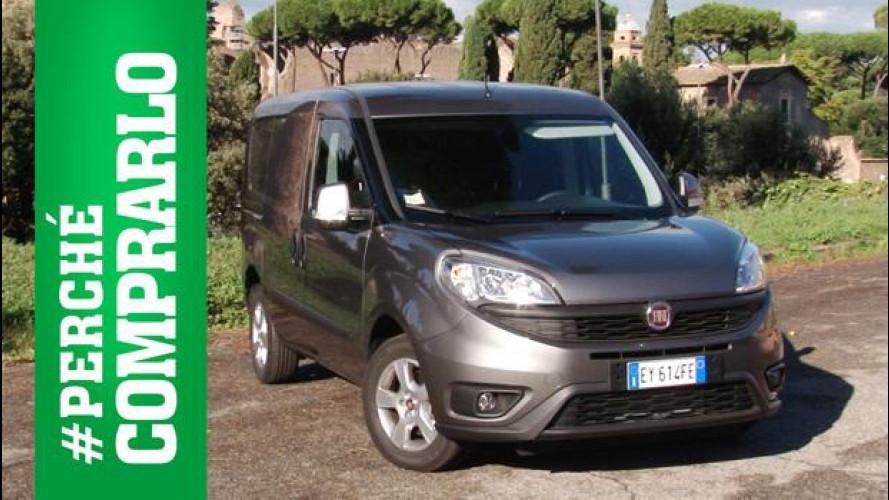 Fiat, è salto di qualità per il Doblò Cargo [VIDEO]