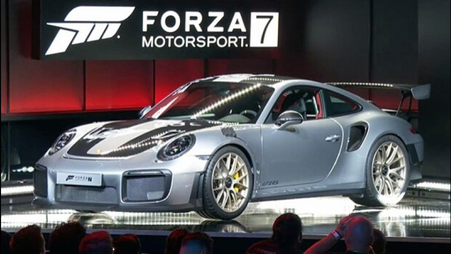 Porsche 911 GT2 RS, l'anteprima è in digitale