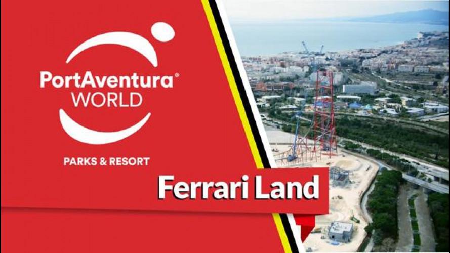 Ferrari da record con le montagne russe alte 112 metri [VIDEO]