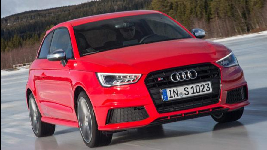 Audi S1, una piccola bomba