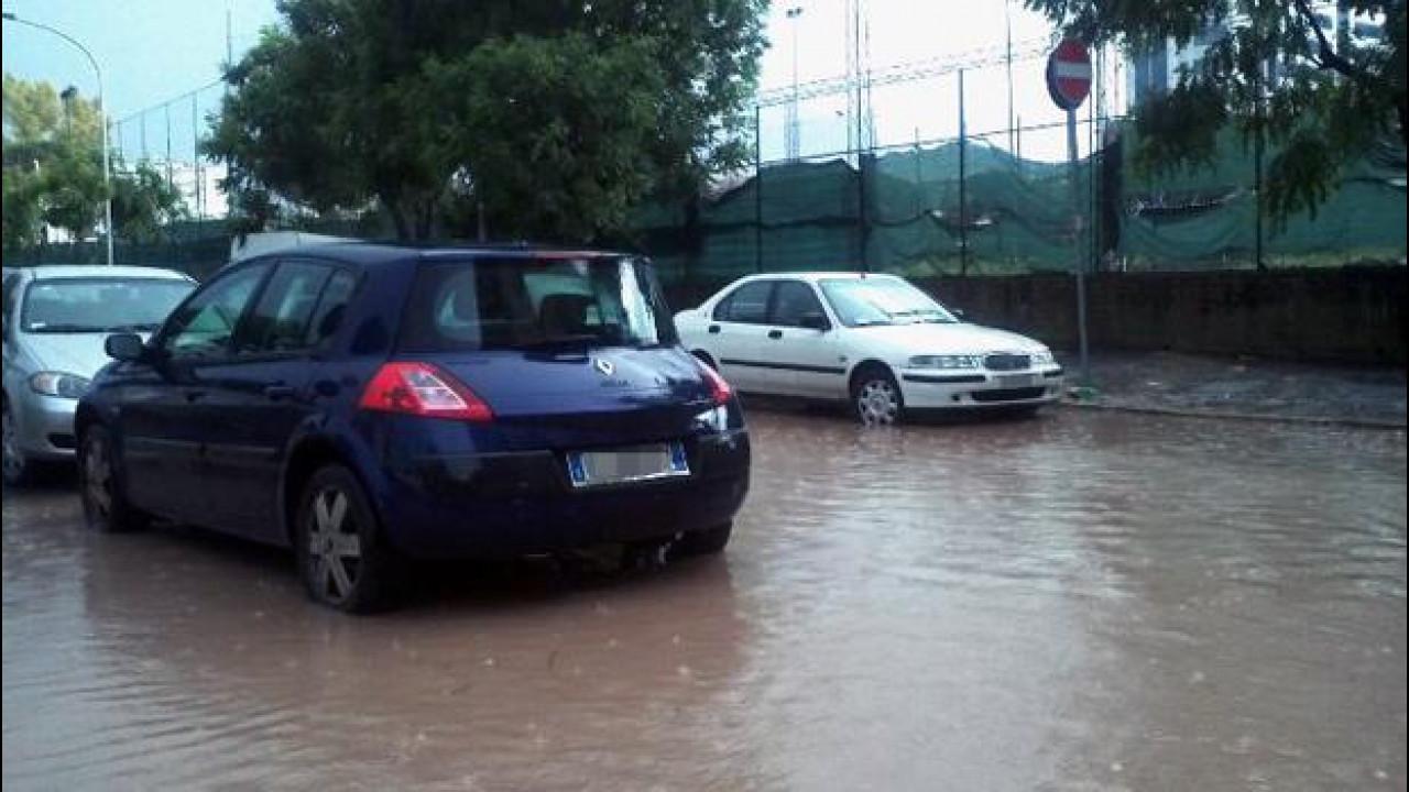 [Copertina] - Maltempo blocca Roma: ecco quali strade sono allagate