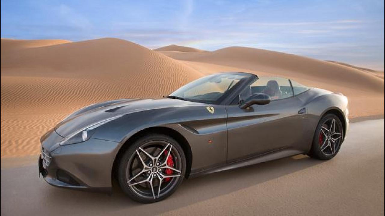 """[Copertina] - Ferrari California T, corsa nel """"Deserto Rosso"""" [VIDEO]"""