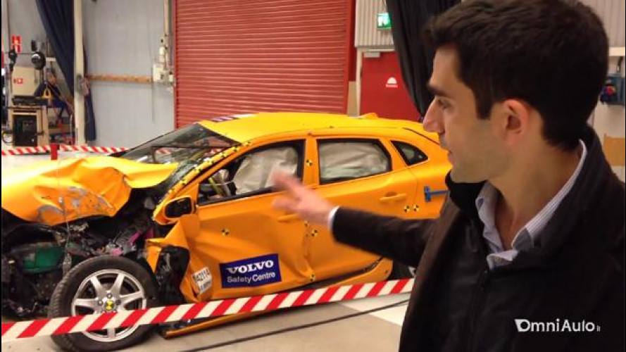 Viaggio nel Safety Center, dove nasce la sicurezza Volvo [VIDEO]