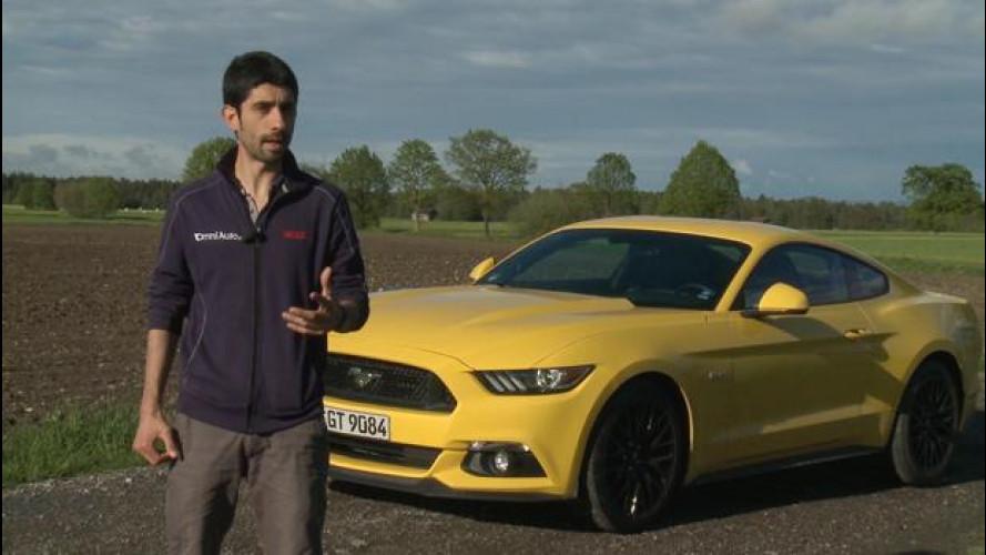 Ford Mustang, che goduria di macchina! [VIDEO]