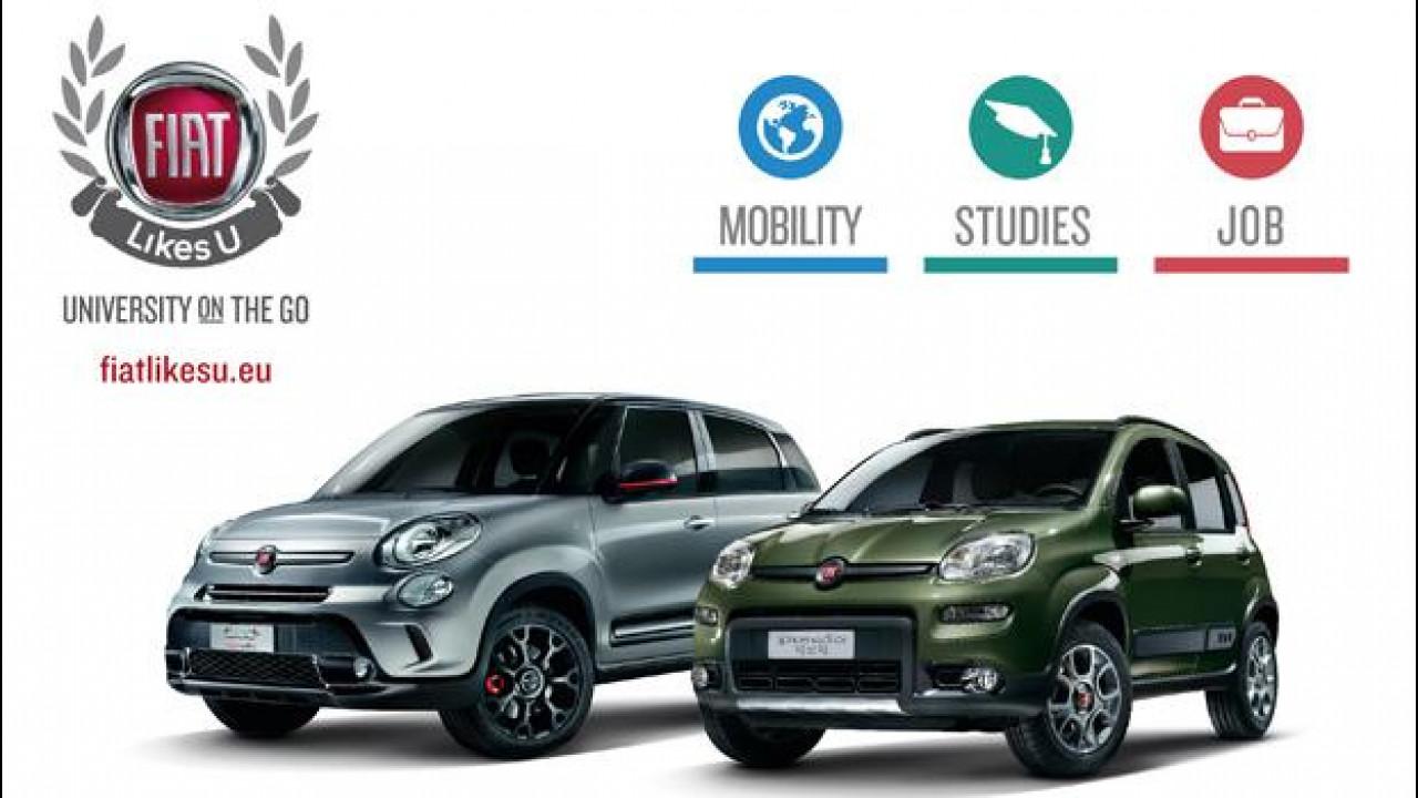 [Copertina] - Torna Fiat Likes U, il car sharing gratuito per le università