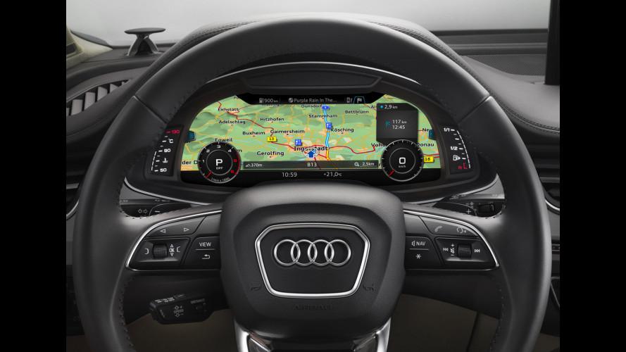 Audi al CES 2016, i display alla conquista degli interni