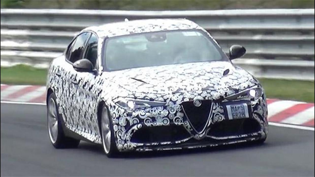 [Copertina] - Alfa Romeo Giulia, un tuono al Nürburgring [VIDEO]