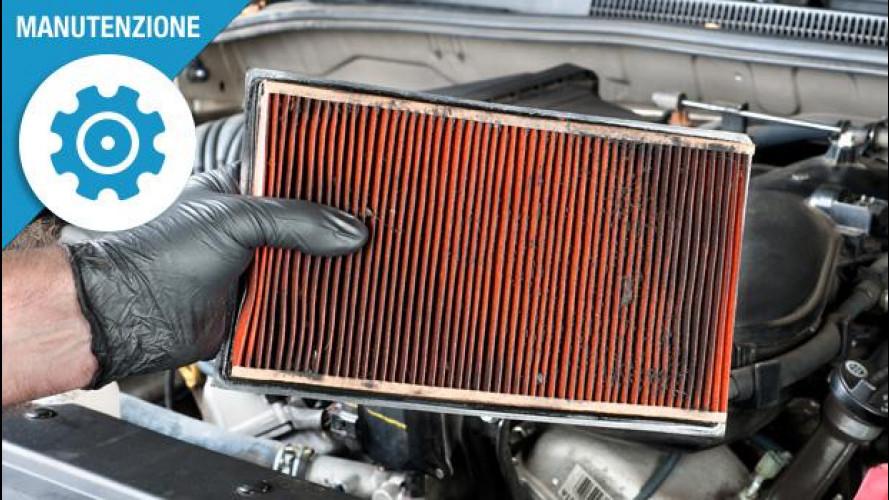 Filtro aria motore, come e perchè pulirlo