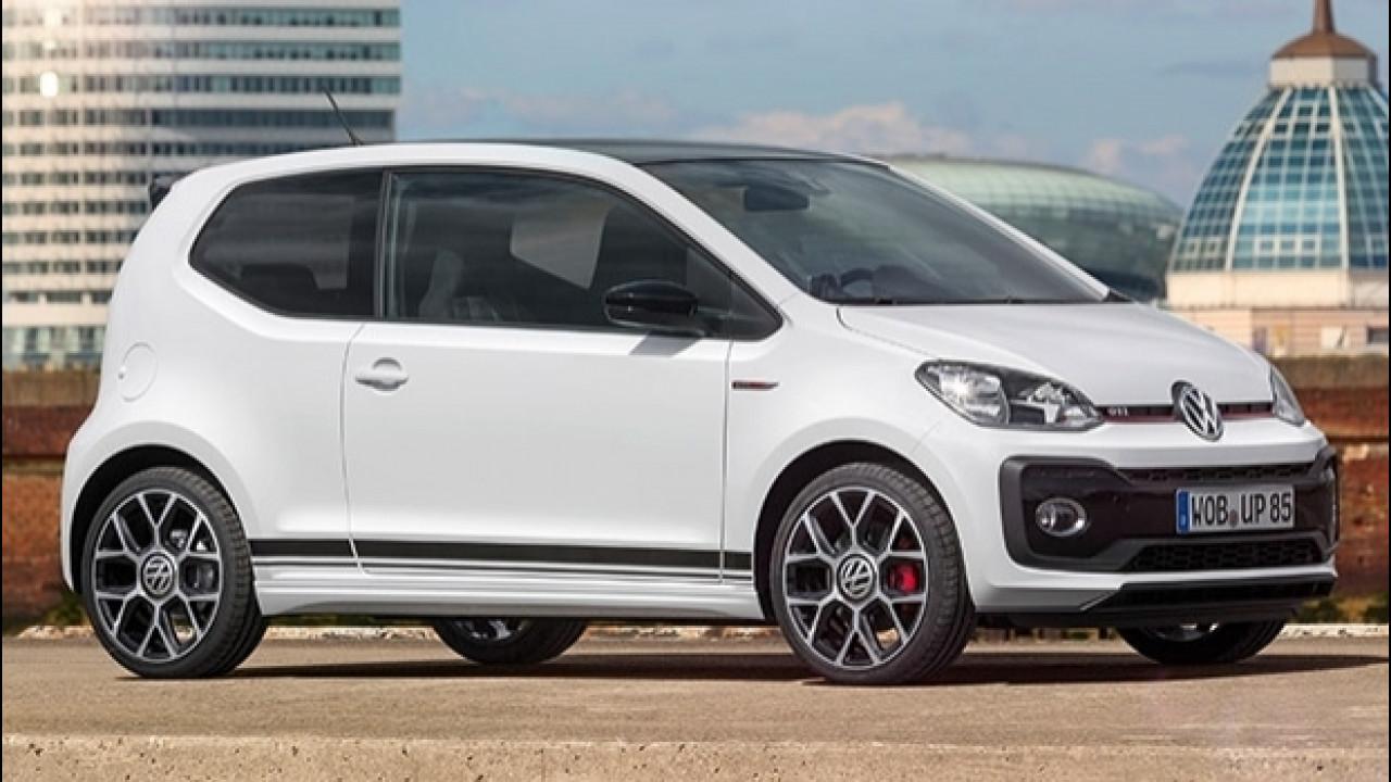 [Copertina] - Volkswagen up! GTI concept, 115 CV in miniatura