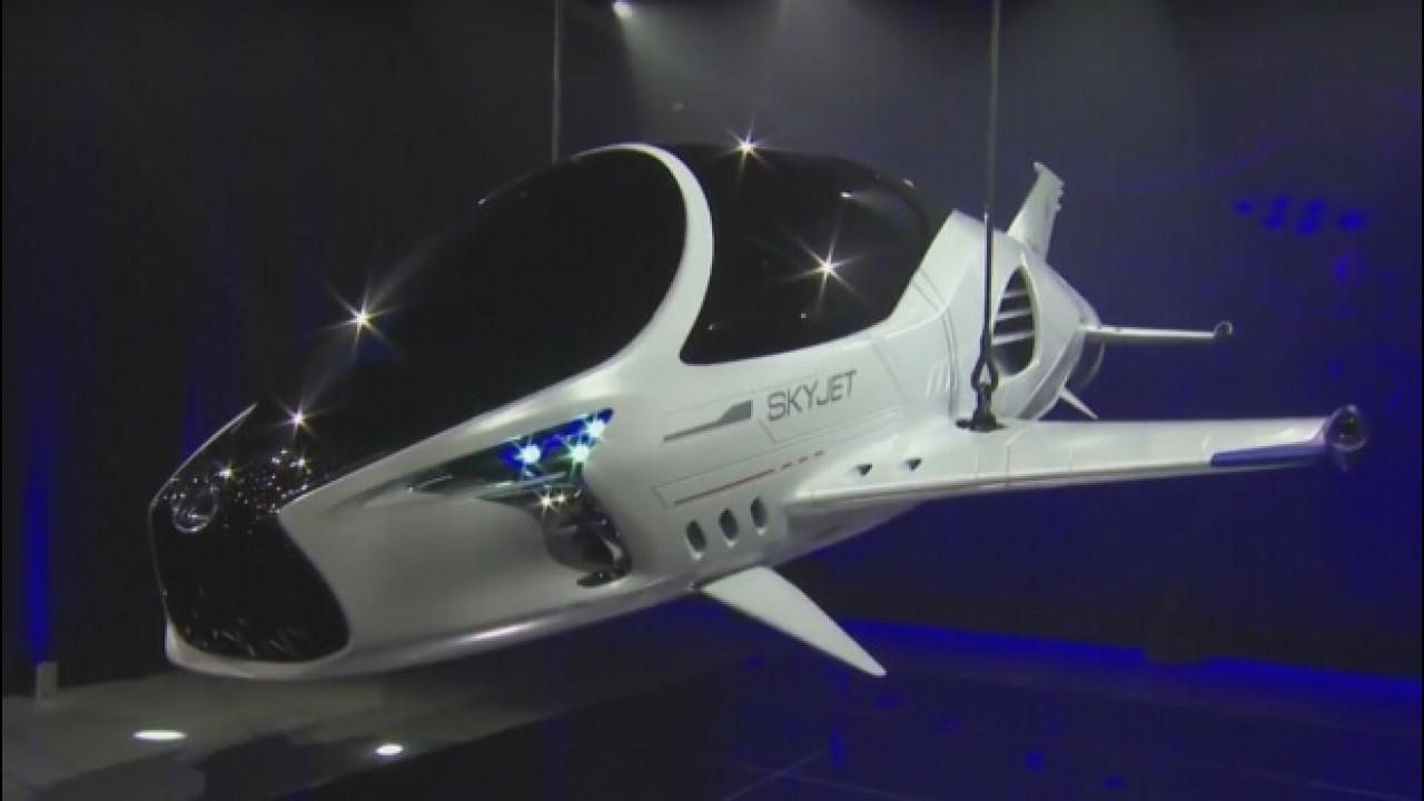 [Copertina] - Lexus Skyjet, saranno così le auto del 28° secolo?
