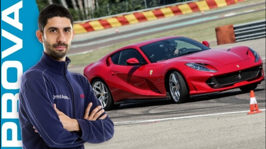 Ferrari 812 Superfast, la meraviglia di guidare con 800 CV [VIDEO]
