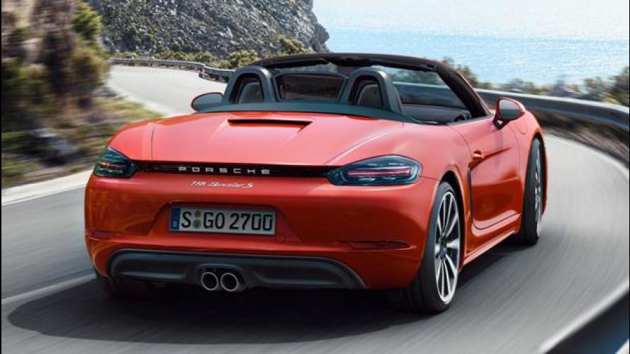 Porsche 718 Boxster, senti come suona [VIDEO]