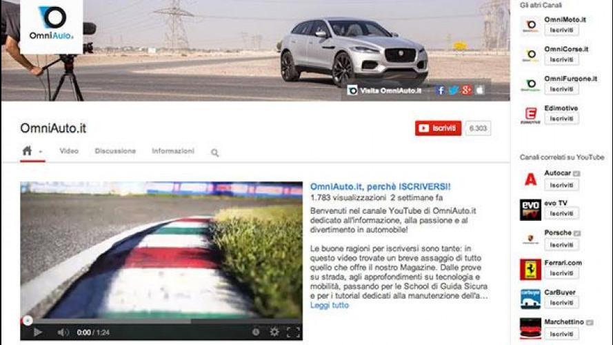 YouTube: 1 milione di minuti in un mese per i video di OmniAuto.it
