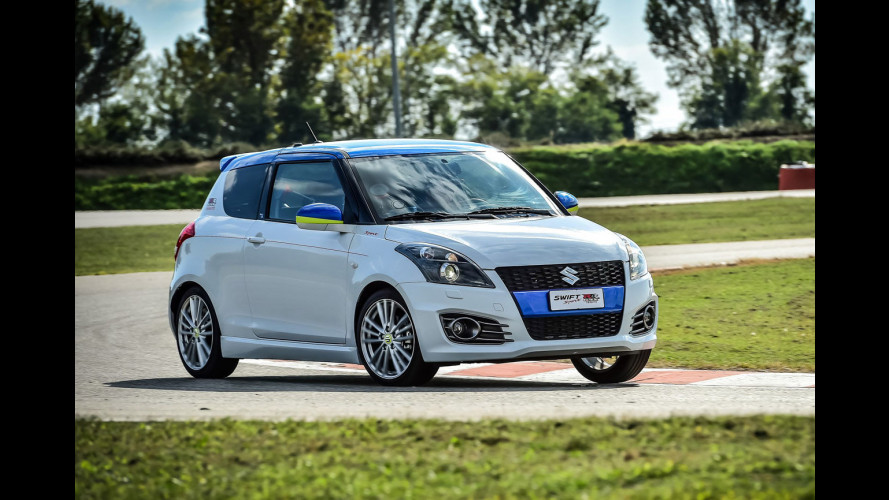Suzuki Swift Sport GSX-RR Tribute, anima da MotoGP [VIDEO]