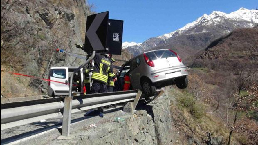 Strade italiane, 1 su 2 è a rischio incidente