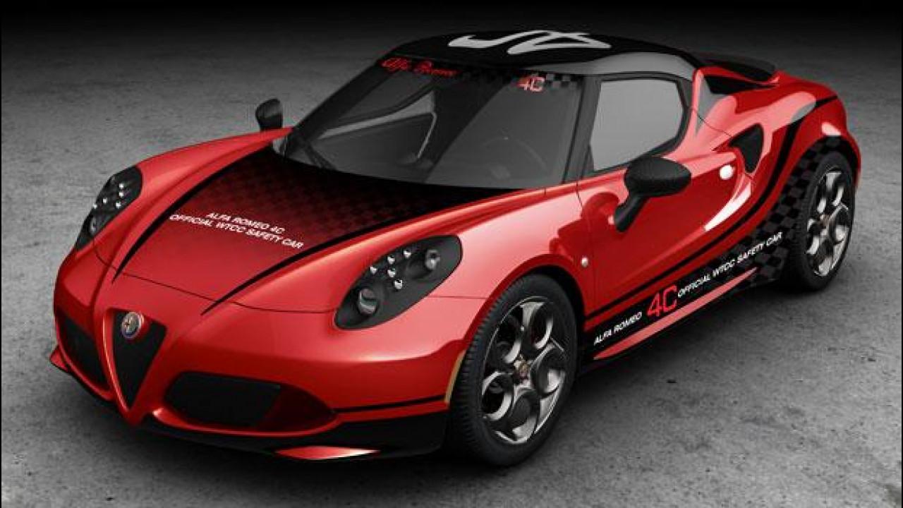 [Copertina] - Alfa Romeo 4C, la nuova safety car del WTCC