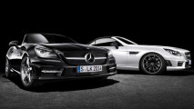 mercedes slk carbonlook edition roadster per la primavera