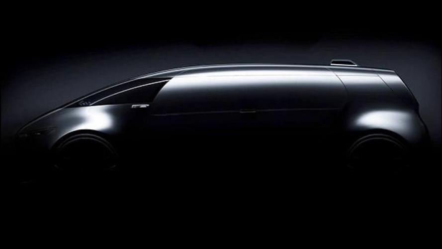 Mercedes Vision Tokyo, la monovolume va da sé