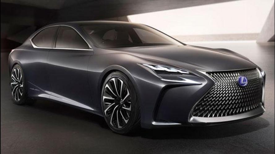 Lexus LF-FC Flagship, concept da ammiraglia