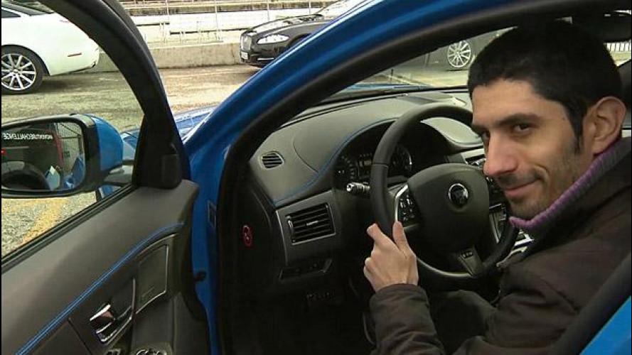 Jaguar XFR-S Sportbrake: 550 CV su una station, in test drive a Ginevra