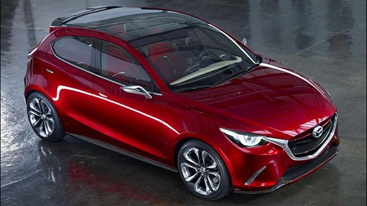 [Copertina] - Mazda Hazumi concept: ecco la nuova Mazda2